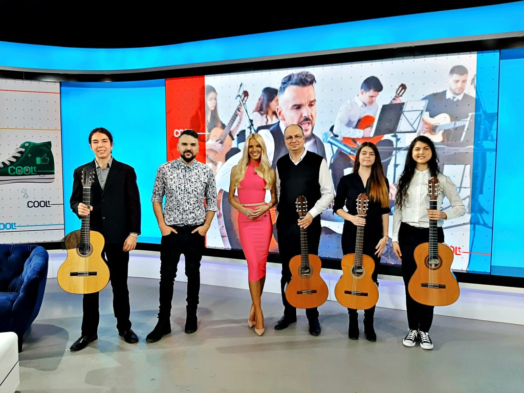 Интервю с Графа и Младежкия китарен оркестър в БТВ